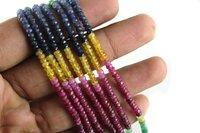Multi Sapphire Beads