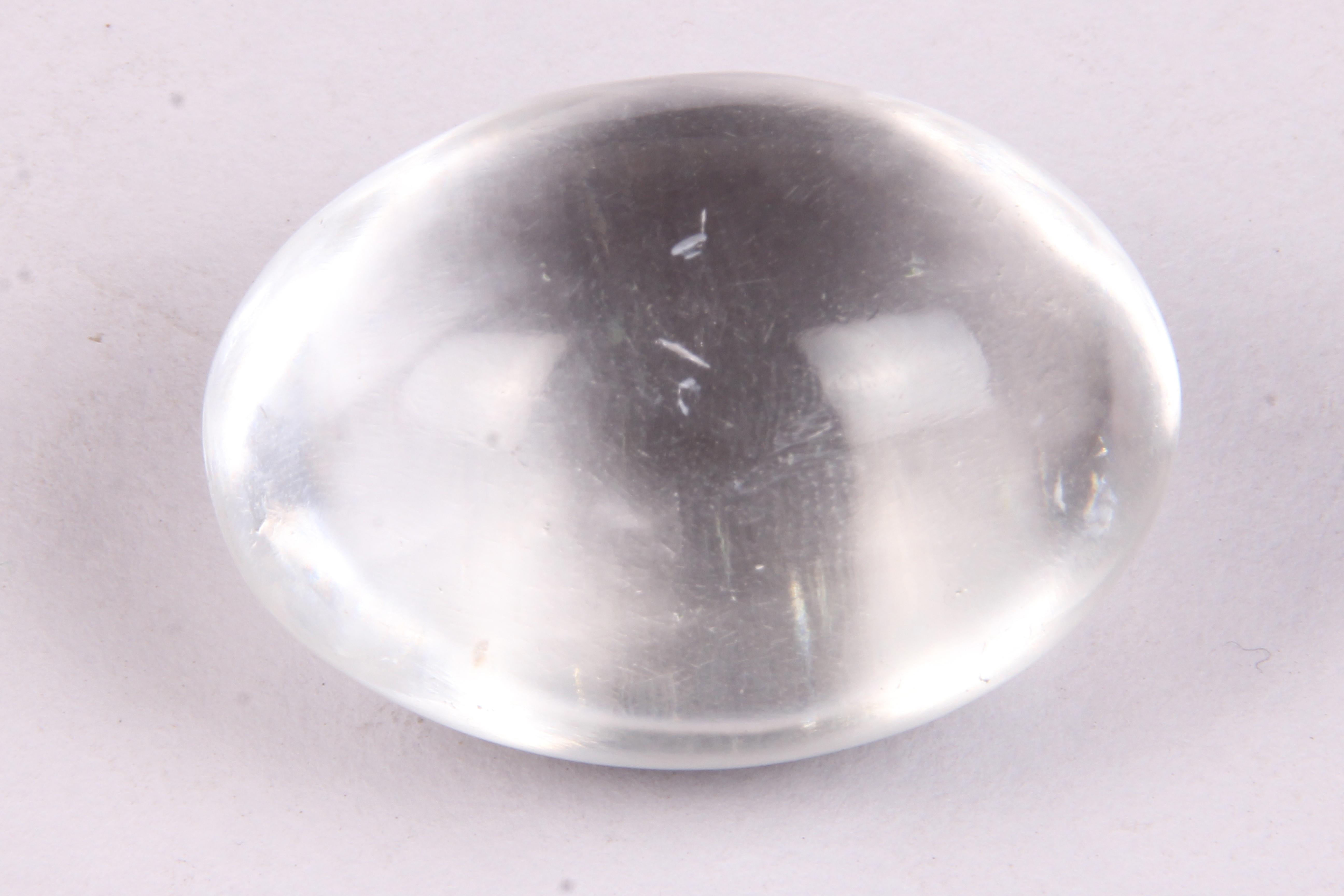 Crystal Quartz Shiva Lingam
