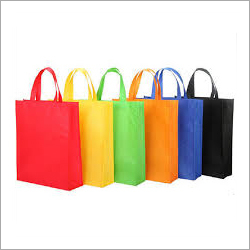 Colored Loop Handle Non Woven Bag