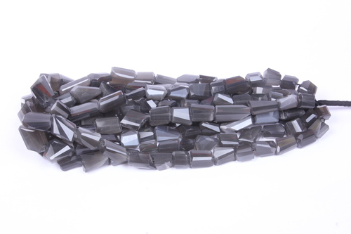 Grey Moonstone Beads
