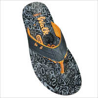Men Printed Slipper