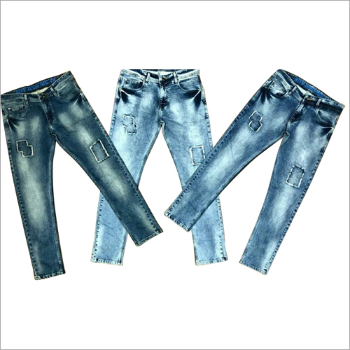 Mens Overdyed Jeans