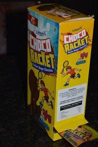 Racket Shape Chocolate