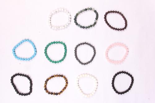 Round 8 MM Beads Bracelet