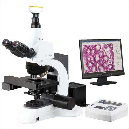 Motorized Auto Focus Laboratory Microscope