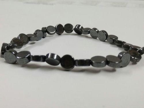 Hematite Coin Bracelet