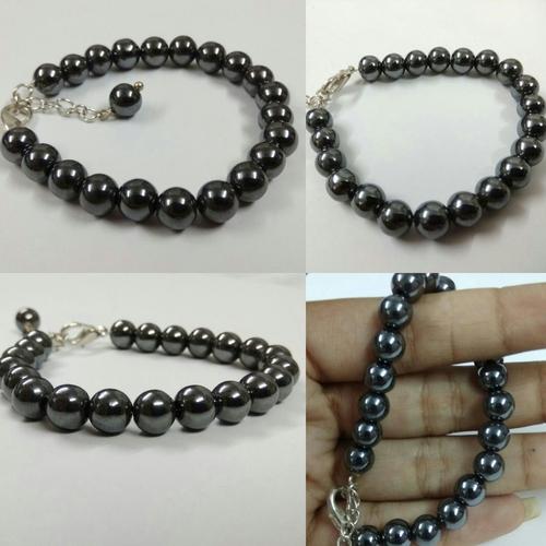 Hematite Chain Bracelet