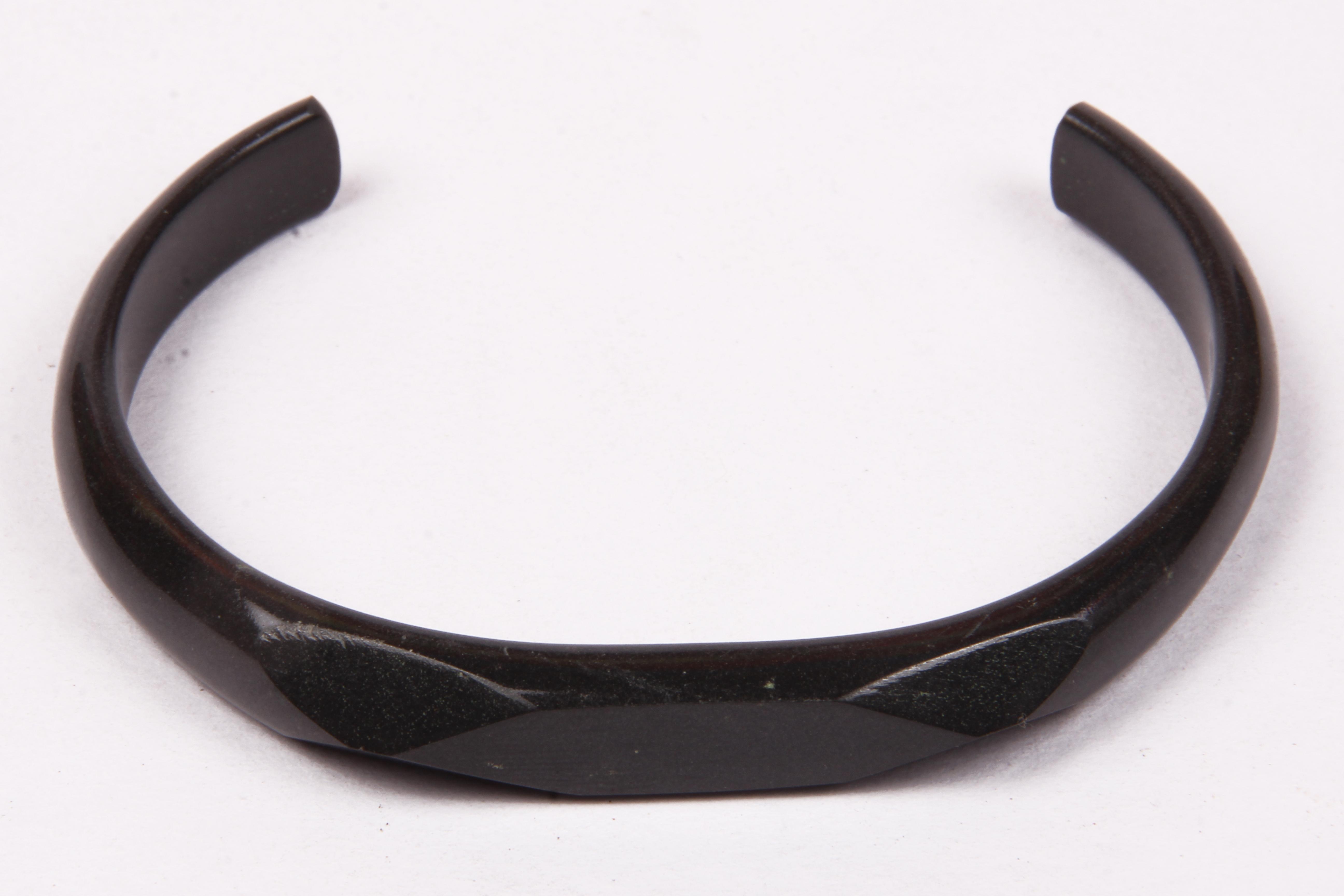 Agate Stone Cuff Bracelet