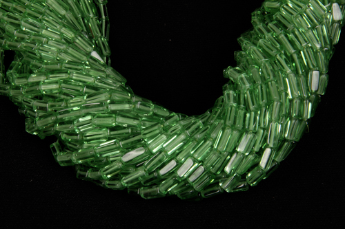 Green Colour Glass Beads