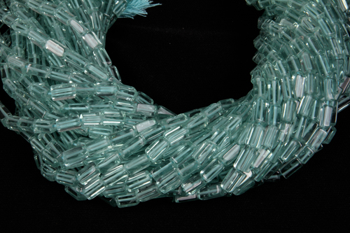 Aqua Colour Glass Beads