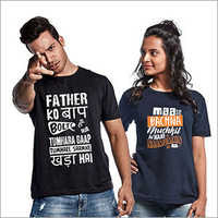 Couple Designer T-Shirt