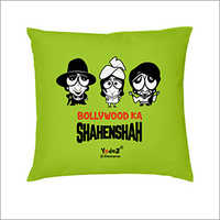 Trendy Cartoon Printed Cushion