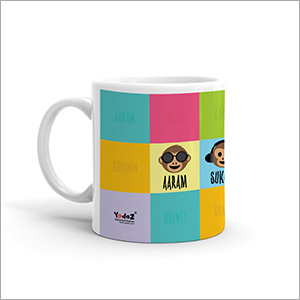 Multi Colored Coffee Mug