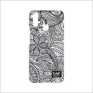 Vivo V9 Abstract Black And White Mobile Cover
