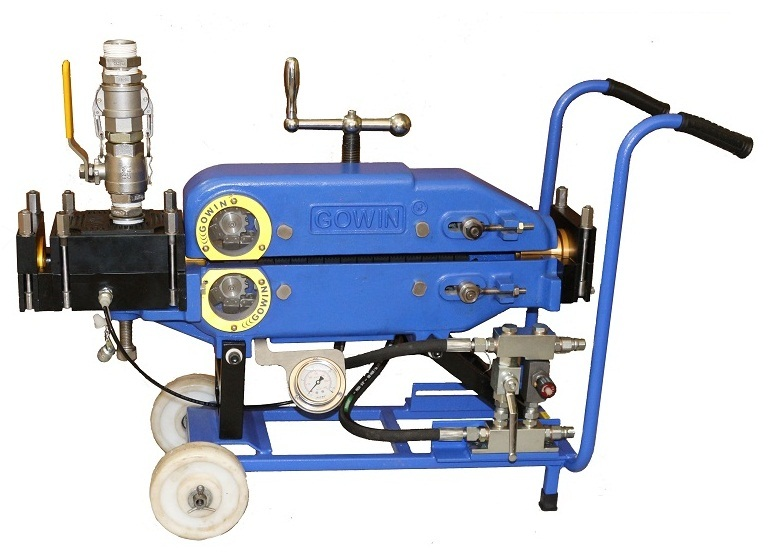 Gowin 1025 Cable Blowing Machine Wheel mounted