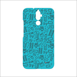 Lenovo K8 Plus Blue Movie Abstract Mobile Cover