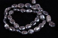 Labradorite Coated Oval Beads