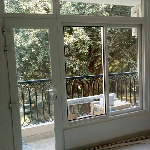 Transparent Designer Glass Window