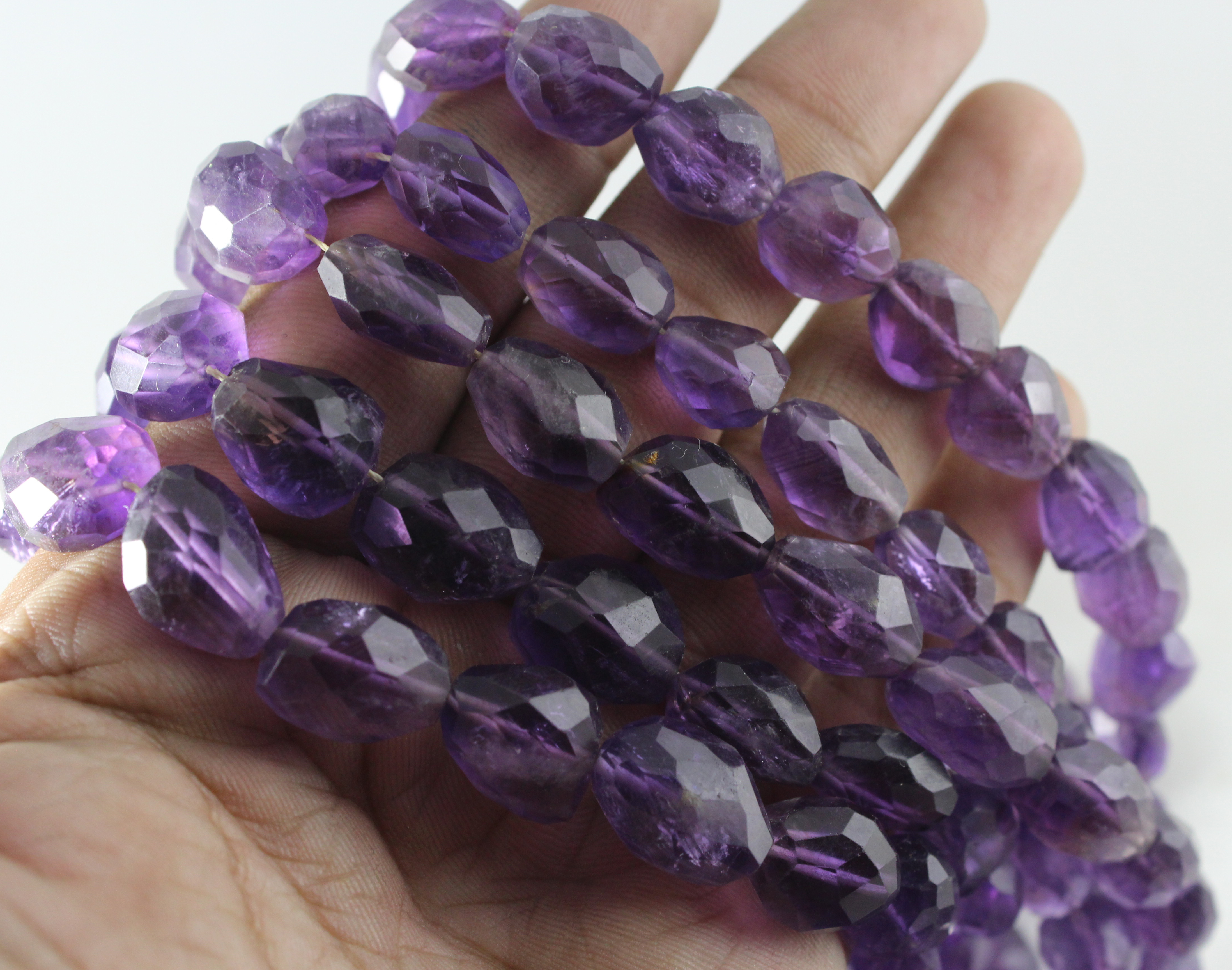 Amethyst Nuggets Beads