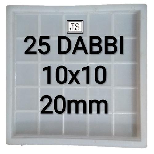 Dabbi Silicone Plastic Paver Mould