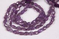 Amethyst Oval Gemstone Beads