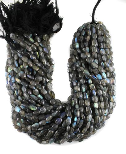 Labradorite Oval Beads