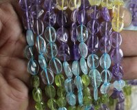 Mix Stone Oval Beads