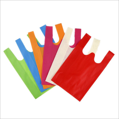 Multi Color Non Woven W Cut Bag