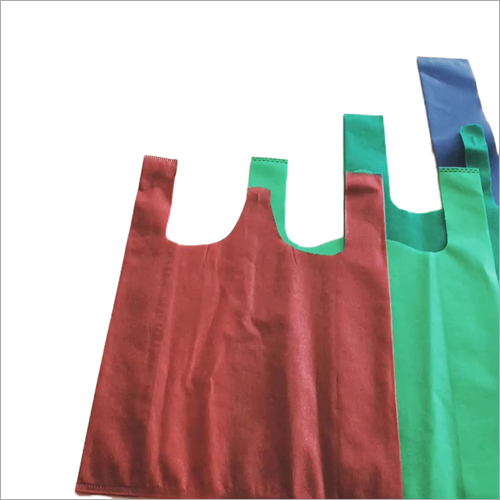 Non Woven Plain W Cut Bag