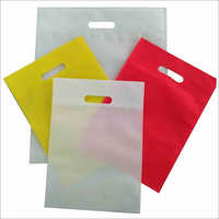 D Cut Non Woven Plain Bag