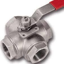 4 way ball valves