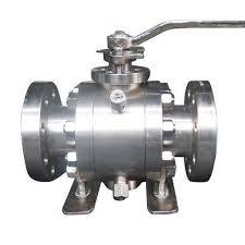 TRUNNION MOUNTED BALL VALVES