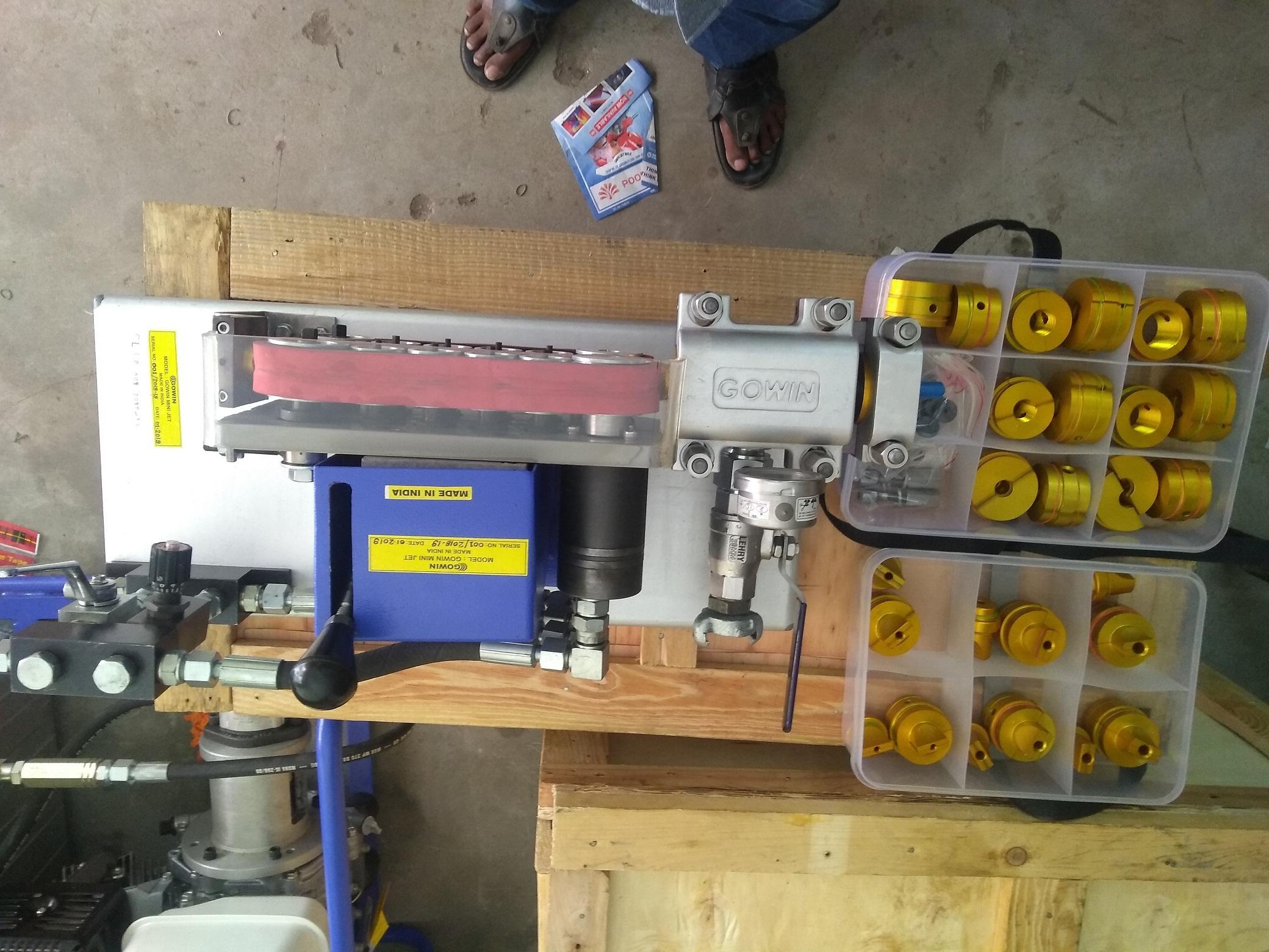 Gowin Minijet Micro Fiber Hydraulic Cable Blowing Machine