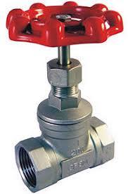 SCREWED AND GLOBE VALVES