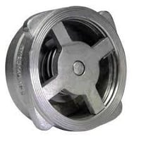 SINGLE DISC SPRING LOADED CHECK VALVES