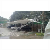 Car Parking Tensile Structure Shade