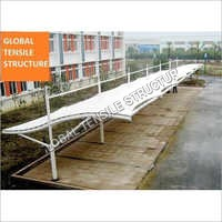 Modern Car Parking Tensile Structure Shade