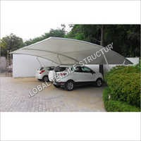 Car Parking Tensile Membrane Structure Shade