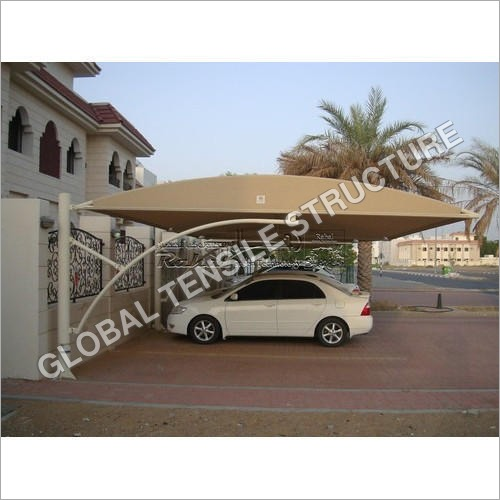 Residential Car Parking Tensile Structure Shade
