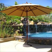 Outdoor Garden Umbrella Shape Tensile Structure