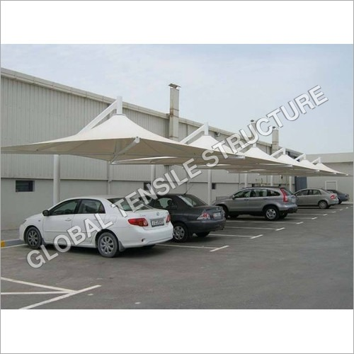 Car Parking Tensile Structure And Shade