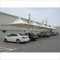 Car Parking PVC Water Proof Tensile Structure
