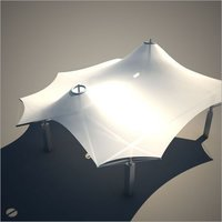 Tensile Umbrella Structure