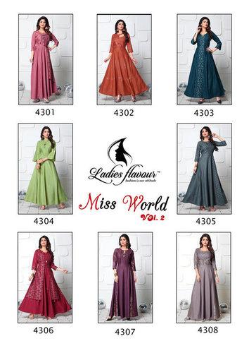 Miss World Vol-2 Ladies Flavour Launch Maya Slub Kurti