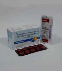 Paracetamole 325mg+Phenylephrine 5mg+Cafeine 30mg+Dephenhydramine 25mg(Anticold Tab)