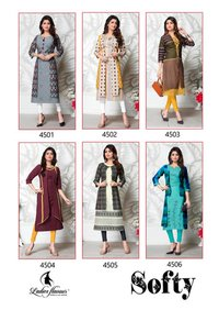 Softy Ladies Flavour Handloom Cotton Kurti