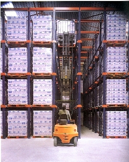 GODREJ DRIVE IN RACKING SYSTEM