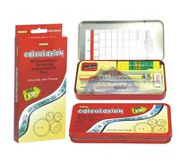 Mathemetical Drawing Instruments Box