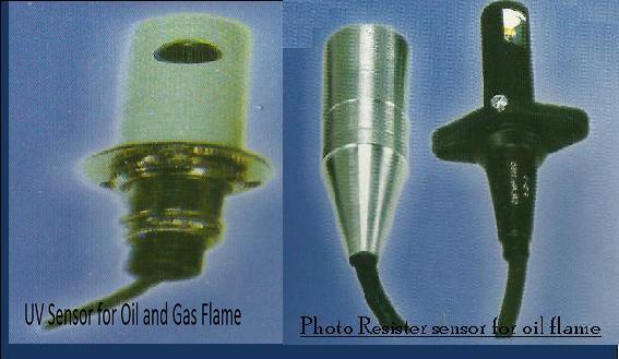Flame Sensors (UV, FR & PR types)