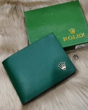 Color leather Wallet